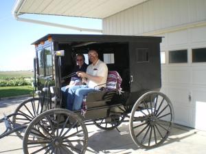 cindy & Tom drive